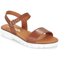 kengät Tytöt Sandaalit ja avokkaat Citrouille et Compagnie GAPOTI Camel