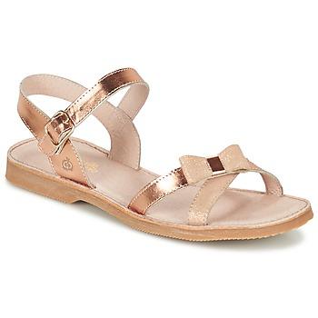 kengät Tytöt Sandaalit ja avokkaat Citrouille et Compagnie GOGOGATO Bronze