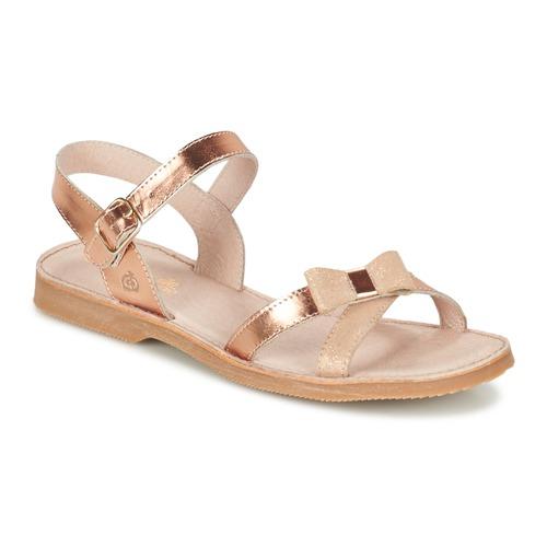kengät Tytöt Sandaalit ja avokkaat Citrouille et Compagnie JISCOTTE Bronze