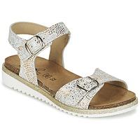 kengät Tytöt Sandaalit ja avokkaat Citrouille et Compagnie GAUFRETTE Gold