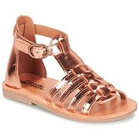 kengät Tytöt Sandaalit ja avokkaat Citrouille et Compagnie JASMA Cuivré