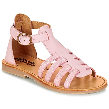 kengät Tytöt Sandaalit ja avokkaat Citrouille et Compagnie JASMA Pink