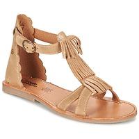 kengät Tytöt Sandaalit ja avokkaat Citrouille et Compagnie GAMELA CAMEL