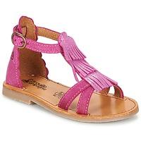 kengät Tytöt Sandaalit ja avokkaat Citrouille et Compagnie GAMELA Pink