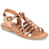 kengät Tytöt Sandaalit ja avokkaat Citrouille et Compagnie GROUFLA BRONZE