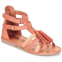 kengät Tytöt Sandaalit ja avokkaat Citrouille et Compagnie GOFARO Persikka