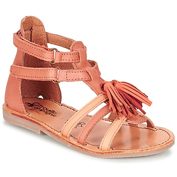 kengät Tytöt Sandaalit ja avokkaat Citrouille et Compagnie GOFARO Orange