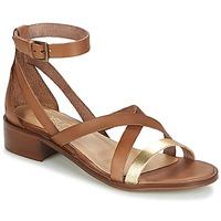 kengät Naiset Sandaalit ja avokkaat Casual Attitude COUTIL Camel / Kulta