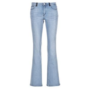 vaatteet Naiset Bootcut-farkut Naf Naf GALY Blue / CLAIR