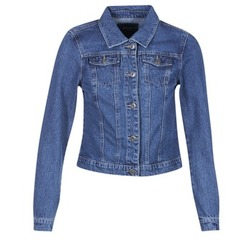 vaatteet Naiset Farkkutakki Only DARCY Blue