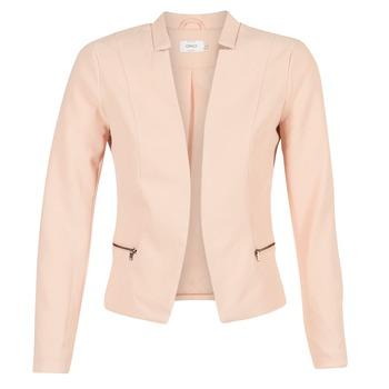 vaatteet Naiset Takit / Bleiserit Only MADELINE Pink