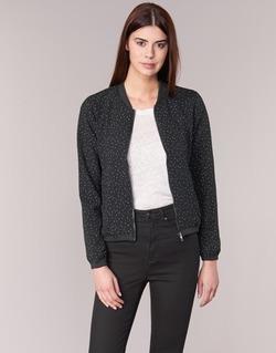 vaatteet Naiset Pusakka Only NOVA LACE Black / White