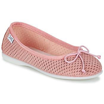 kengät Tytöt Balleriinat Citrouille et Compagnie GERRAGO Pink