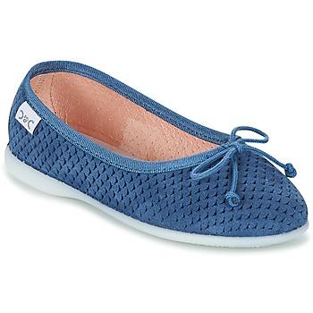 kengät Tytöt Balleriinat Citrouille et Compagnie GERRAGO Blue