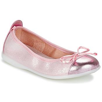 kengät Tytöt Balleriinat Citrouille et Compagnie GRAGON Pink / Paljetti