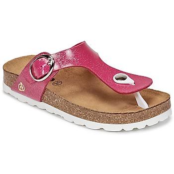 kengät Tytöt Varvassandaalit Citrouille et Compagnie GOMINET Pink