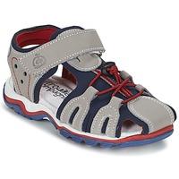 kengät Pojat Sandaalit ja avokkaat Citrouille et Compagnie GUFUMO Grey