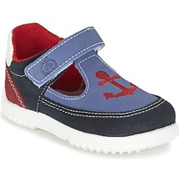 kengät Pojat Sandaalit ja avokkaat Citrouille et Compagnie GANDAL Blue / Red