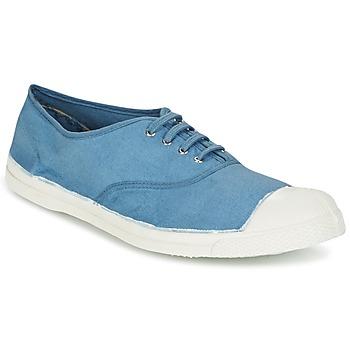 kengät Miehet Matalavartiset tennarit Bensimon TENNIS LACET Blue