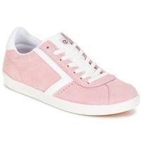 kengät Naiset Matalavartiset tennarit Yurban GUELVINE Vaaleanpunainen