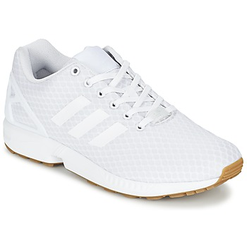 kengät Miehet Matalavartiset tennarit adidas Originals ZX FLUX White