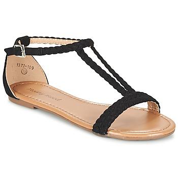kengät Naiset Sandaalit ja avokkaat Moony Mood GEMINIELLE Black