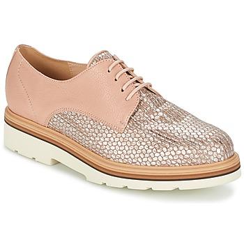 kengät Naiset Derby-kengät Fericelli GRATY Pink / Nude