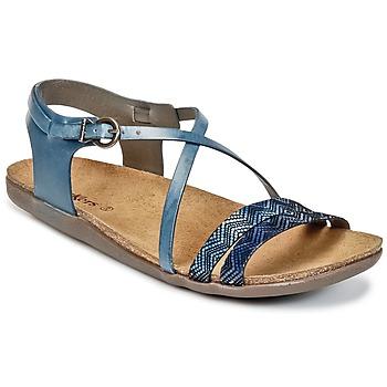 kengät Naiset Sandaalit ja avokkaat Kickers ATOMIUM Blue / Kuvioitu