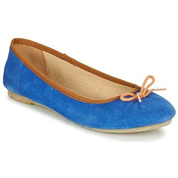 kengät Naiset Balleriinat Kickers BAIE Blue / Orange