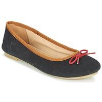 kengät Naiset Balleriinat Kickers BAIE Black / Red