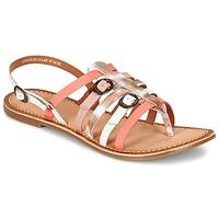 kengät Naiset Sandaalit ja avokkaat Kickers DIXMILLE Silver / Pink / White