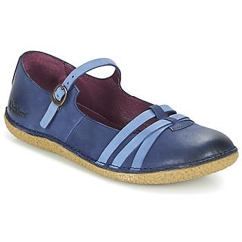 kengät Naiset Balleriinat Kickers HIBOU Laivastonsininen