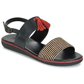 kengät Naiset Sandaalit ja avokkaat Kickers HYRO Black / Red