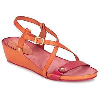 kengät Naiset Sandaalit ja avokkaat Kickers TASTE Orange / Red