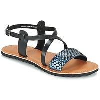 kengät Naiset Sandaalit ja avokkaat Kickers VIPA Black