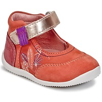 kengät Tytöt Balleriinat Kickers BIMAMBO Orange / FUKSIA / Pink