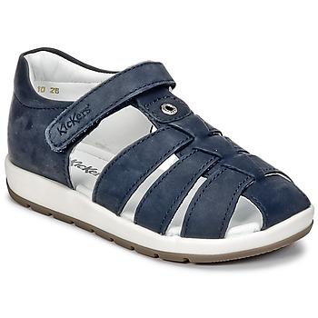 kengät Pojat Sandaalit ja avokkaat Kickers SOLAZ Laivastonsininen