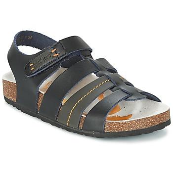kengät Pojat Sandaalit ja avokkaat Kickers MAGITEAM Black
