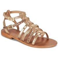 kengät Naiset Sandaalit ja avokkaat Les Tropéziennes par M Belarbi BAILLE Gold