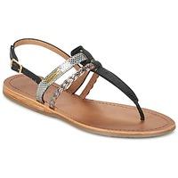 kengät Naiset Sandaalit ja avokkaat Les Tropéziennes par M Belarbi BARAKA Black / Silver