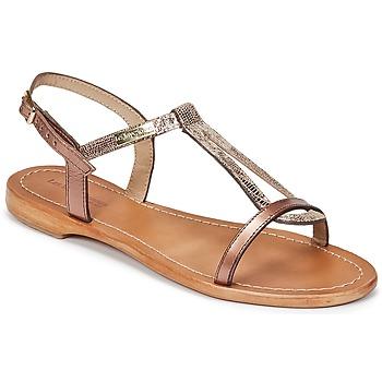 kengät Naiset Sandaalit ja avokkaat Les Tropéziennes par M Belarbi HAMAT Pronssi