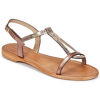 kengät Naiset Sandaalit ja avokkaat Les Tropéziennes par M Belarbi HAMAT BRONZE