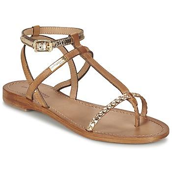 kengät Naiset Sandaalit ja avokkaat Les Tropéziennes par M Belarbi HILATRES Ruskea / Kulta