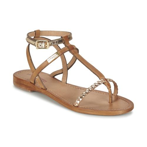 kengät Naiset Sandaalit ja avokkaat Les Tropéziennes par M Belarbi HILATRES Brown / Kulta