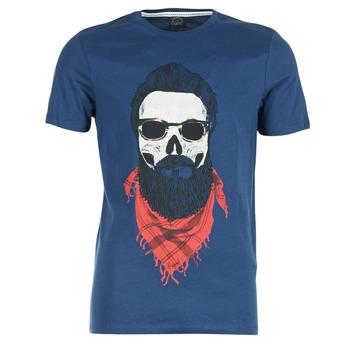 vaatteet Miehet Lyhythihainen t-paita Jack & Jones TRICK ORIGINALS Laivastonsininen