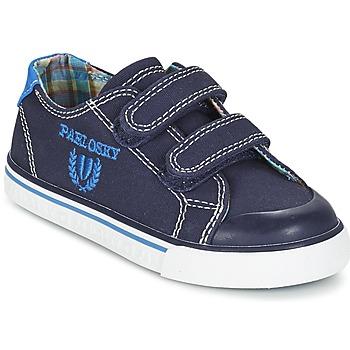 kengät Pojat Matalavartiset tennarit Pablosky TEDOUME Blue