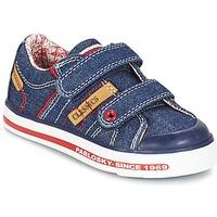kengät Pojat Matalavartiset tennarit Pablosky ERIVO Blue