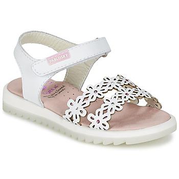 kengät Tytöt Sandaalit ja avokkaat Pablosky COULOIME White