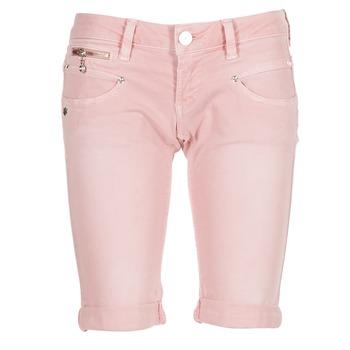 vaatteet Naiset Shortsit / Bermuda-shortsit Freeman T.Porter BELIXA NEW MAGIC COLOR Pink