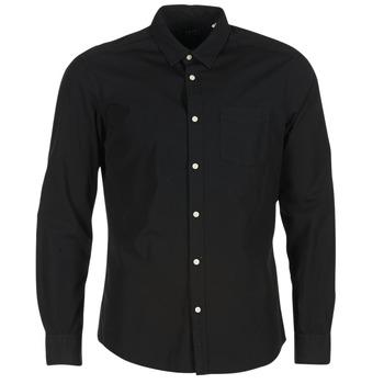 vaatteet Miehet Pitkähihainen paitapusero Esprit FOVETTIO Black